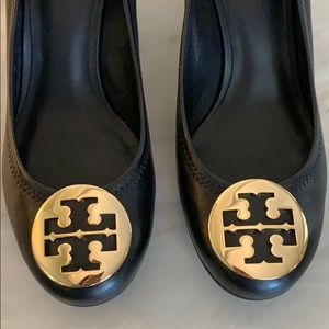 Tory Burch Shoes - *Tory Burch* authentic Logo Medallion Wedge